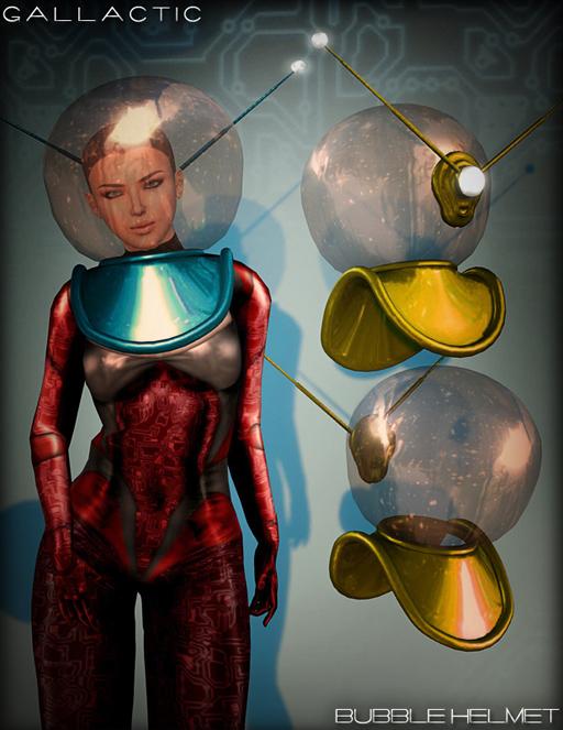 poster bubble helmets