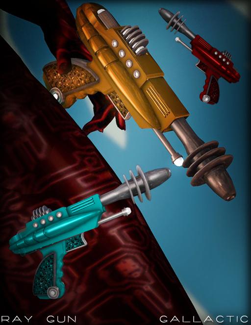 poster ray guns