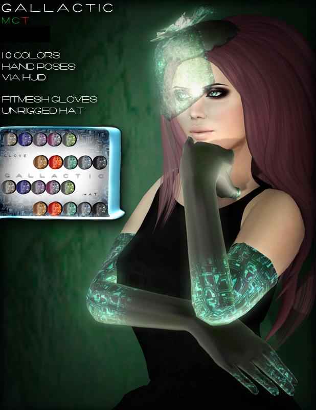 FW001 gloves_hat Poster